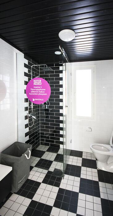 Kylpyhuone kohteessa Deko 192, Asuntomessut 2015 Vantaa