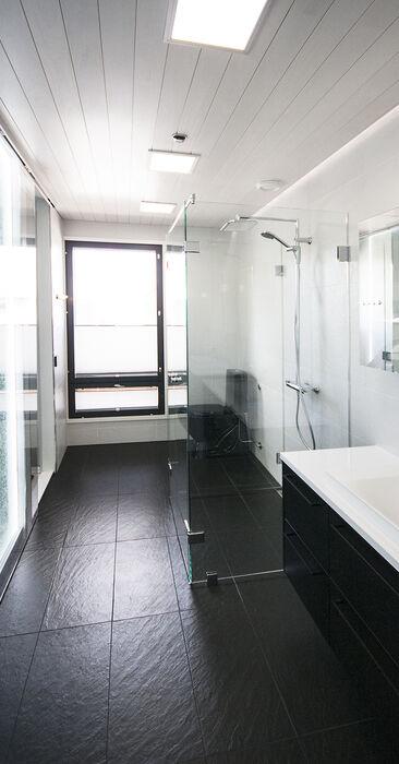 Kylpyhuone kohteessa Villa Beauty, Asuntomessut 2015 Vantaa
