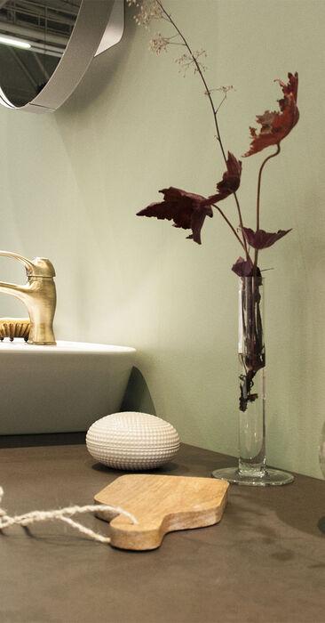 Rustiikkia tunnelmaa kylpyhuoneeseen, Habitare 2015