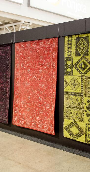 Kaunis itämainen matto tuo kotiin lämpöä ja tunnelmaa, Habitare 2015