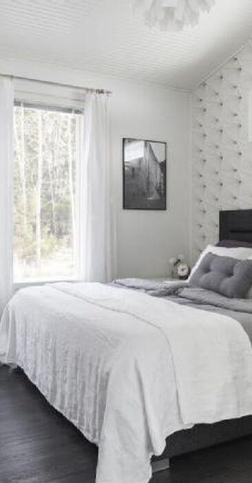 Tekstiilit tekevät viihtyisän makuuhuoneen
