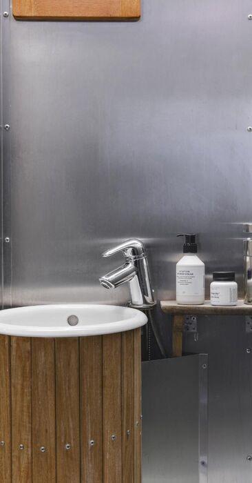 Makeita materiaalivalintoja kylpyhuoneessa