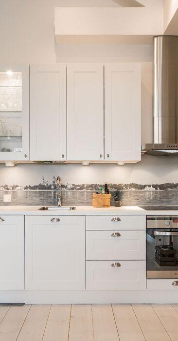 Kiva idea keittiön välitilaan