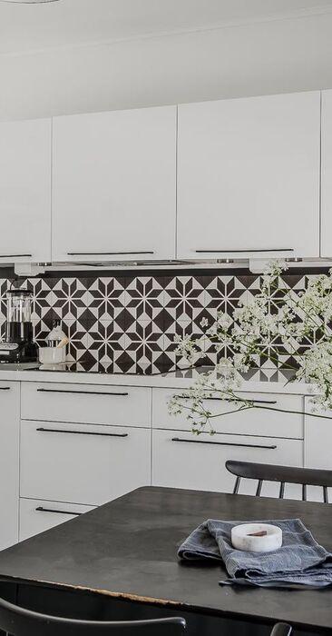 Kaunis skandinaavinen keittiö