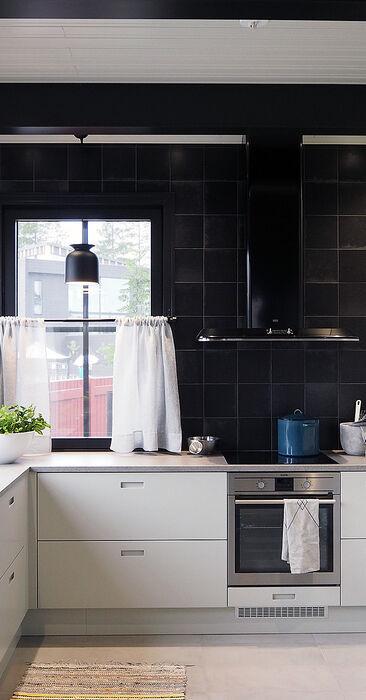 Keittiö kohteessa Pohjanmaa, Asuntomessut 2016 Seinäjoki