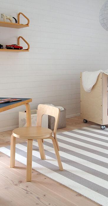 Lastenhuone kohteessa Talo Koskela, Asuntomessut 2016 Seinäjoki