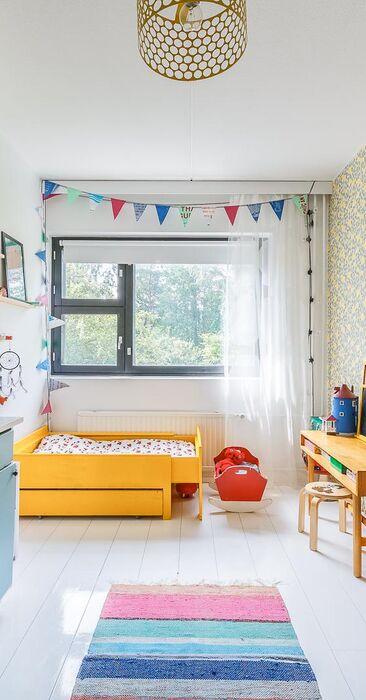 Värit tuovat iloa lastenhuoneeseen