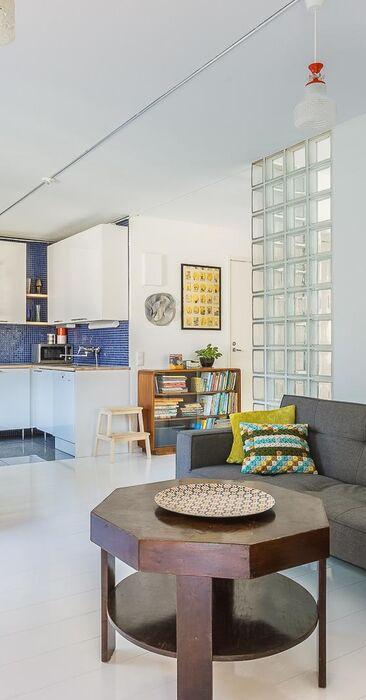 Iloisen kodin värikäs sisustus