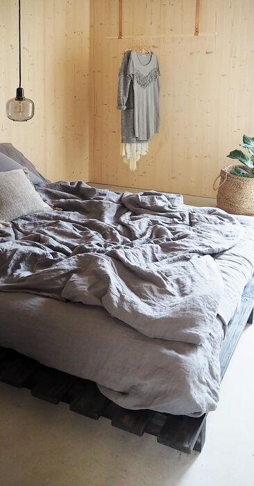 Makuuhuone kohteessa Kotola, Asuntomessut 2016 Seinäjoki