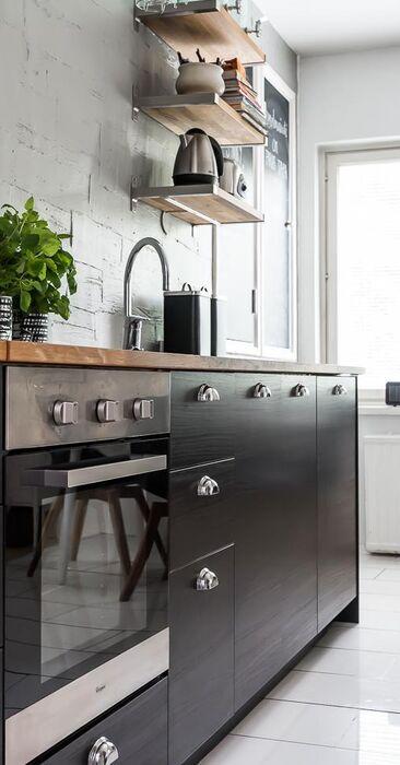 Tyylikkäitä yksityiskohtia keittiössä