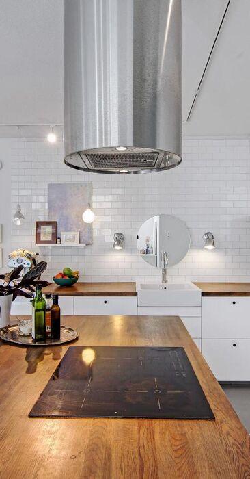 Kaunis ja funktionaalinen keittiö