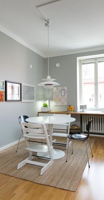 Skandinaavista tyyliä keittiössä