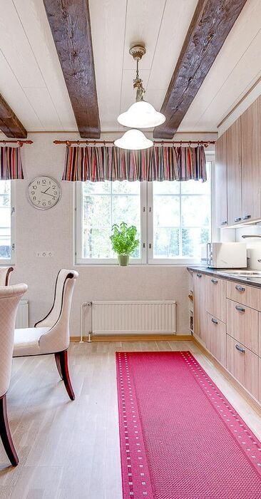 Klassista tyyliä keittiössä