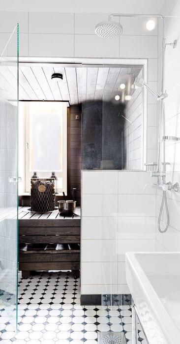 Kauniita yksityiskohtia kylpyhuoneessa