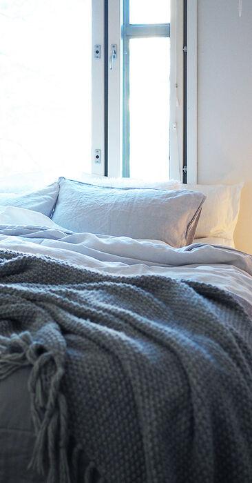 Harmoninen tunnelma makuuhuoneessa