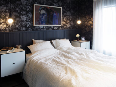 Moderni makuuhuone 9672984