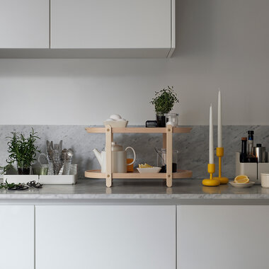 Modernit muotoiluklassikot tuovat järjestystä keittiöön