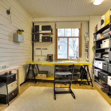 Työhuoneen remontti: uusi vuosi, uudet hommat