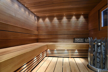 Kuitu Saunasarja CLASSIC, 15kpl, kuidut 5*5.5m, 5*4m ja 5*3m, 2mm, 15kpl linsseja, 5W, 300lm, LED projektori