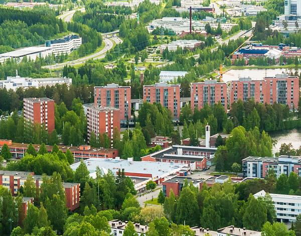 Kuopion asuinalueet kokemuksia